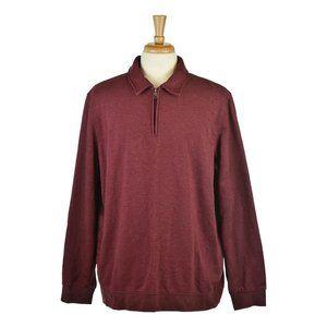 Croft & Barrow Pullovers XL Red